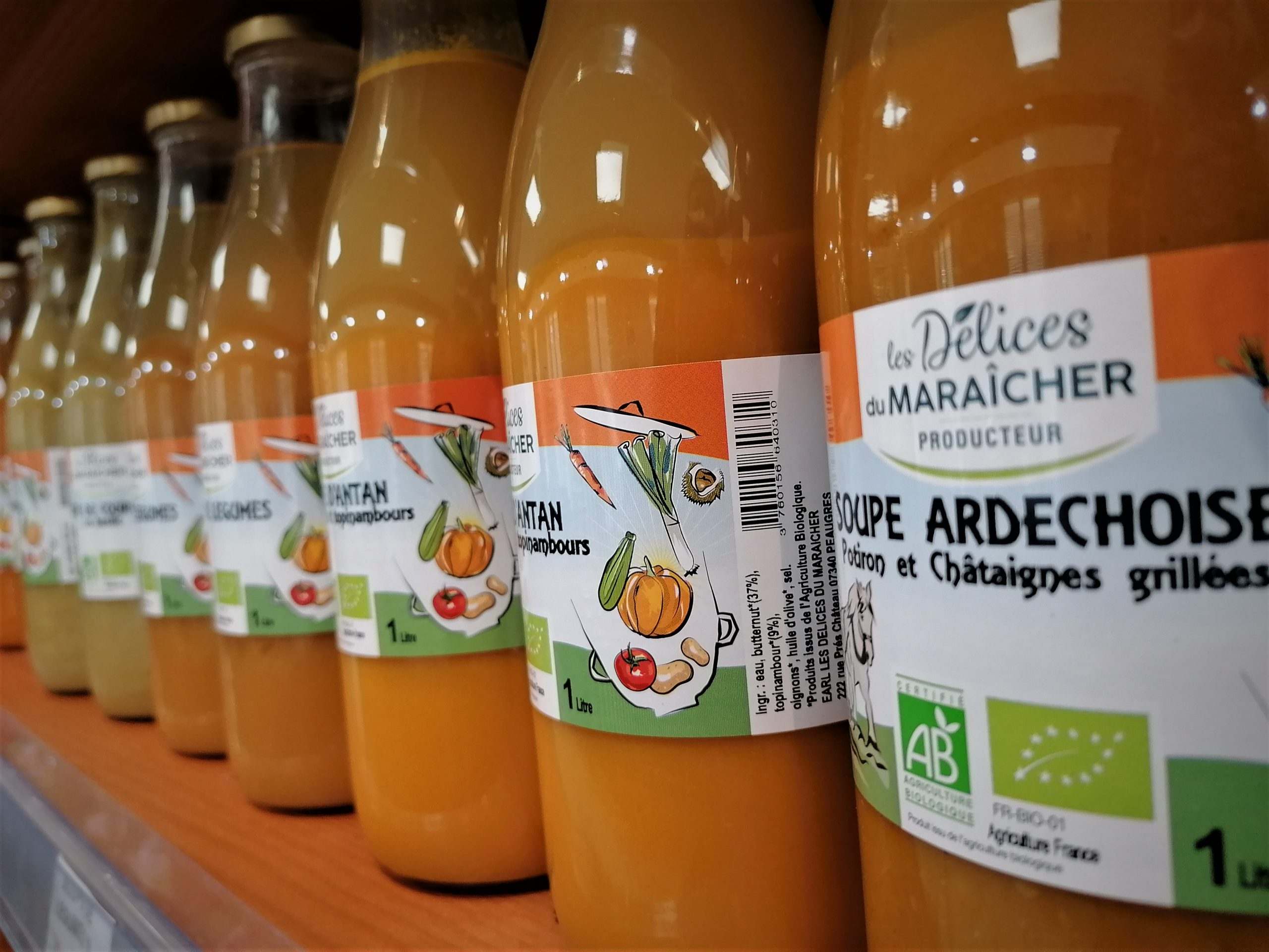 soupes conserves producteur bio